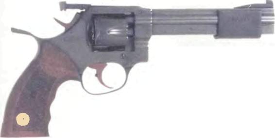 Франция: револьвер МАНУРИН MR-32 МЭТЧ - фото, описание, характеристики, история
