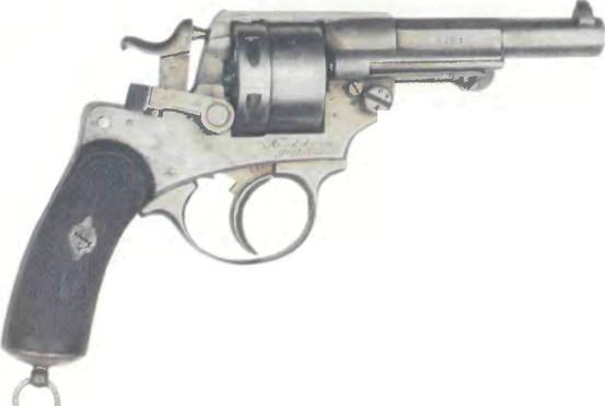 Франция: револьвер СЕНТ-ЭТЬЕН, модель 1873 - фото, описание, характеристики, история
