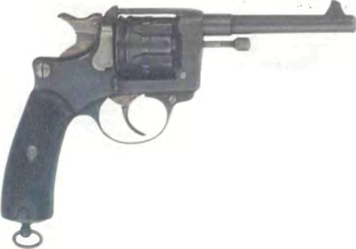 Франция: револьвер СЕНТ-ЭТЬЕН, модель 1892 (ЛЕБЕЛЬ) - фото, описание, характеристики, история