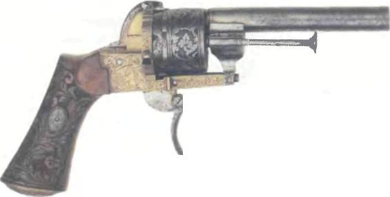 Франция: револьвер ШПИЛЕЧНЫЙ - фото, описание, характеристики, история