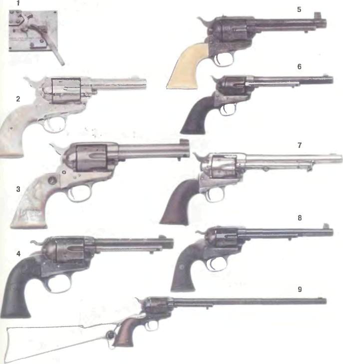 США: револьверы АРМЕЙСКИЕ КОЛЬТ ОДИНАРНОГО ДЕЙСТВИЯ - фото, описание, характеристики, история
