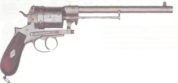 Австрия: револьвер ГАССЕРА - фото, описание, характеристики, история