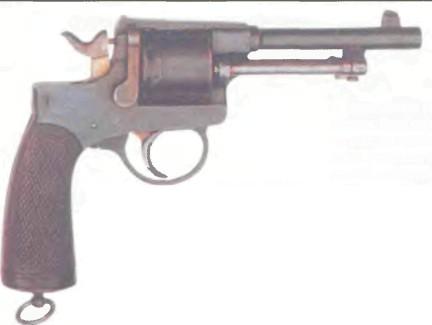 Австро-Венгрия: револьвер РАСТ-ГАССЕР, модель 1898  - фото, описание, характеристики, история