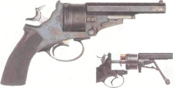 Бельгия: револьвер ГАЛАН И СОМЕРВИЛЛЬ - фото, описание, характеристики, история