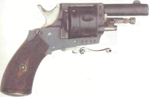 Бельгия: револьвер МИНИАТЮРНЫЙ - фото, описание, характеристики, история