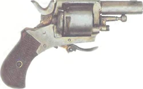 Бельгия: револьвер БУЛЬДОГ (КОПИЯ) - фото, описание, характеристики, история