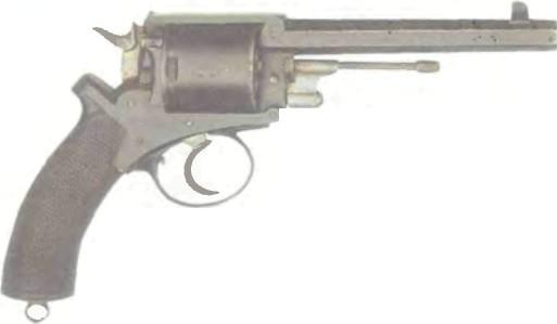 Бельгия: револьвер ЦЕНТРАЛЬНОГО БОЯ АДАМСА (КОПИЯ) - фото, описание, характеристики, история
