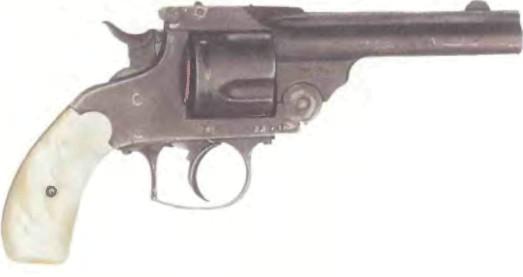 Бельгия: револьвер СМИТА-ВЕССОНА (КОПИЯ), модель № 3 - фото, описание, характеристики