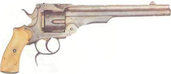 Бельгия: револьвер СМИТА-ВЕССОНА (КОПИЯ), русская модель - фото, описание, характеристики, история