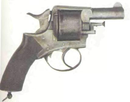 Бельгия: револьвер КАРМАННЫЙ R.I.C. - фото, описание, характеристики, история
