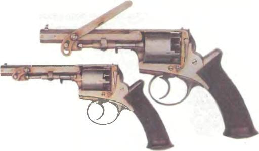 Великобритания: револьвер АДАМСА КАРМАННЫЙ - фото, описание, характеристики, история