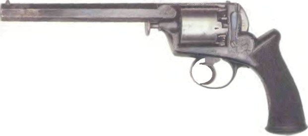 Великобритания: револьвер САМОВЗВОДНЫЙ КАПСЮЛЬНЫЙ АДАМСА - фото, описание, характеристики, история