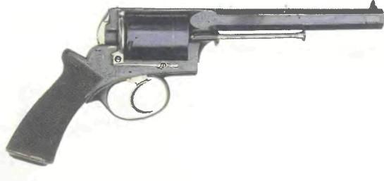 Великобритания: револьвер АДАМСА МОДИФИЦИРОВАННЫЙ - фото, описание, характеристики, история