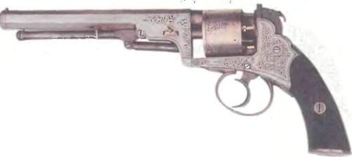 Великобритания: револьвер КАПСЮЛЬНЫЙ БЕНТЛИ - фото, описание, характеристики, история
