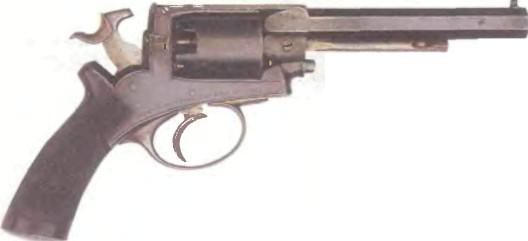Великобритания: револьвер ДИНА-ХАРДИНГА - фото, описание, характеристики, история