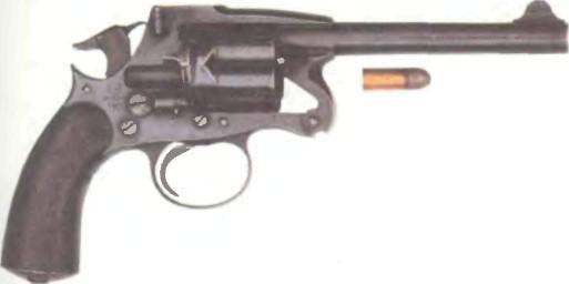 Великобритания: револьвер АРМЕЙСКИЙ ЭНФИЛД МК II - фото, описание, характеристики, история