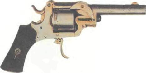 Великобритания: револьвер ХИЛЛА с автоматическим выбрасыванием гильз - фото, описание, история