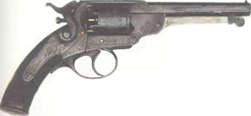 Великобритания: револьвер КЕРРА (№ 27) - фото, описание, характеристики, история