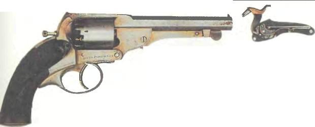 Великобритания: револьвер КЕРРА (поздняя модель) - фото, описание, характеристики, история