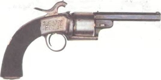 Великобритания: револьвер ГЭС-СИЛ ЛЭНГА - фото, описание, характеристики, история