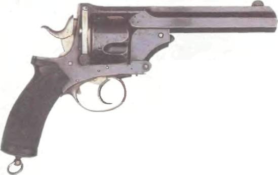 Великобритания: револьвер ПРАЙСА калибра .577 (Блэнд-Прайс) - фото, описание, история
