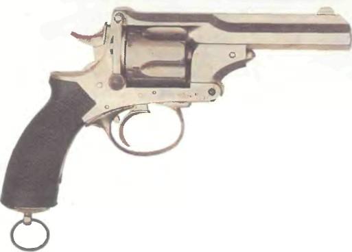 Великобритания: револьвер АРМЕЙСКИЙ ПРАЙСА калибра .455 - фото, описание, характеристики, история