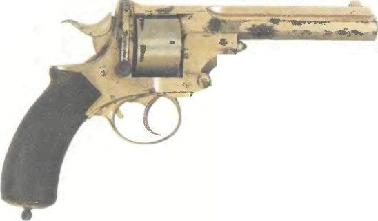 Великобритания: револьвер ПОЛИЦЕЙСКИЙ ПРАЙСА калибра .450 (Ригби-Прайс) - фото, описание, история