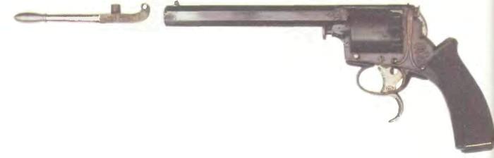 Великобритания: револьвер ТРЭНТЕРА, первая модель - фото, описание, характеристики, история