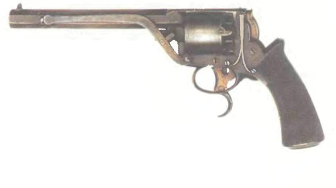 Великобритания: револьвер ТРЭНТЕРА, вторая модель - фото, описание, характеристики, история