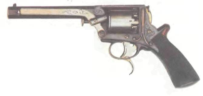 Великобритания: револьвер ТРЭНТЕРА, третья модель - фото, описание, характеристики, история