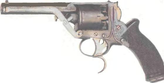 Великобритания: револьвер ТРЭНТЕРА, карманная модель - фото, описание, характеристики, история