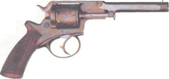 Великобритания: револьвер ТРЭНТЕРА с патронами кругового воспламенения - фото, описание, история