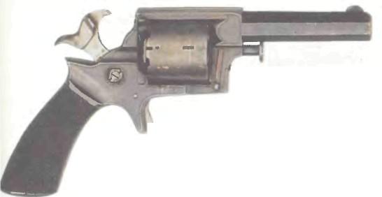 Великобритания: револьвер КАРМАННЫЙ ТРЭНТЕРА - фото, описание, характеристики, история