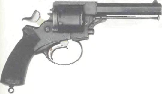 Великобритания: револьвер ЦЕНТРАЛЬНОГО БОЯ ТРЭНТЕРА - фото, описание, характеристики, история