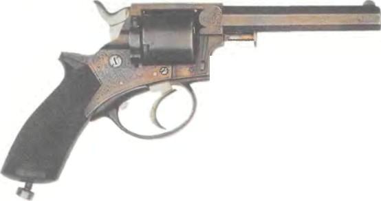 Великобритания: револьвер ИЗМЕНЕННЫЙ ТРЭНТЕРА - фото, описание, характеристики, история