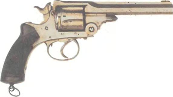 Великобритания: револьвер ТРЭНТЕРА АРМИ - фото, описание, характеристики, история