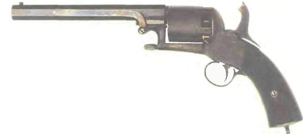Великобритания: револьвер ВЕБЛЕЯ «ЛОНГСПЭР» (Длинная шпора) - фото, описание, история