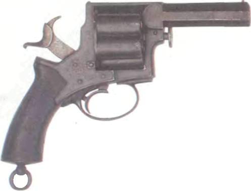 Великобритания: револьвер ВЕБЛЕЙ - фото, описание, характеристики, история
