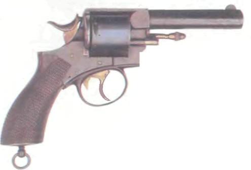 Великобритания: револьвер ВЕБЛЕЙ R.I.C. - фото, описание, характеристики, история