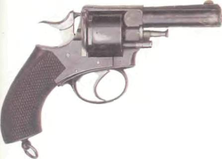 Великобритания: револьвер ВЕБЛЕЙ R.I.C. № 2 - фото, описание, характеристики, история