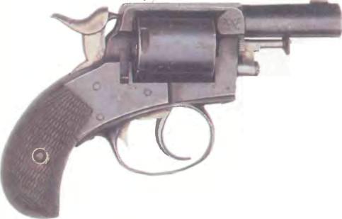 Великобритания: револьвер ВЕБЛЕЙ БУЛЬДОГ - фото, описание, характеристики, история