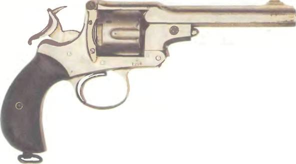 Великобритания: револьвер ВЕБЛЕИ-КАУФМАН - фото, описание, характеристики, история
