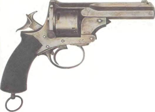 Великобритания: револьвер ВЕБЛЕЙ-ПРАИС калибра .450 - фото, описание, характеристики, история