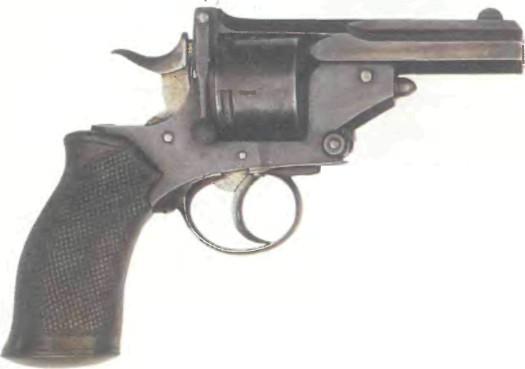 Великобритания: револьвер ВЕБЛЕЙ-ПРАЙС-ТАЙП калибра .450 - фото, описание, характеристики, история