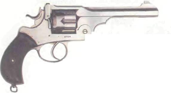 Великобритания: револьвер ПРАВИТЕЛЬСТВЕННЫЙ ВЕБЛЕЯ (веблей-грин) - фото, описание, история