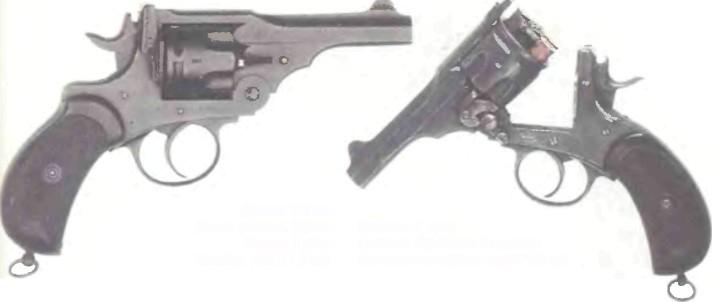 Великобритания: револьвер ВЕБЛЕЙ МК I - фото, описание, характеристики, история