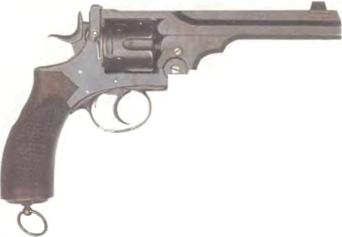 Великобритания: револьвер ВЕБЛЕЙ-ВИЛКИНСОН - фото, описание, характеристики, история
