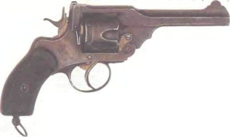 Великобритания: револьвер ВЕБЛЕЙ МК III - фото, описание, характеристики, история