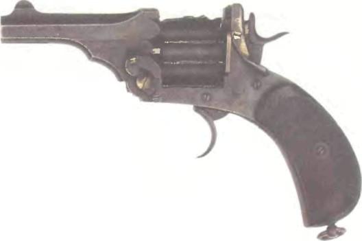 Великобритания: револьвер ВЕБЛЕЙ МК IV калибра .455 (поврежденный) - фото, описание, история