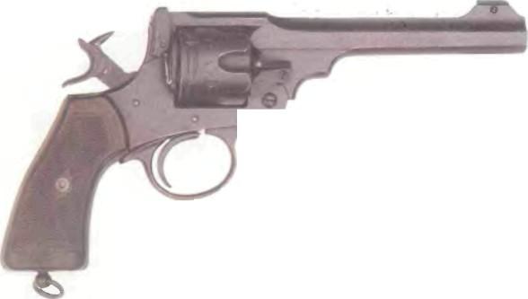 Великобритания: револьвер ВЕБЛЕЙ-СКОТТ МК VI калибра .455 - фото, описание, характеристики, история
